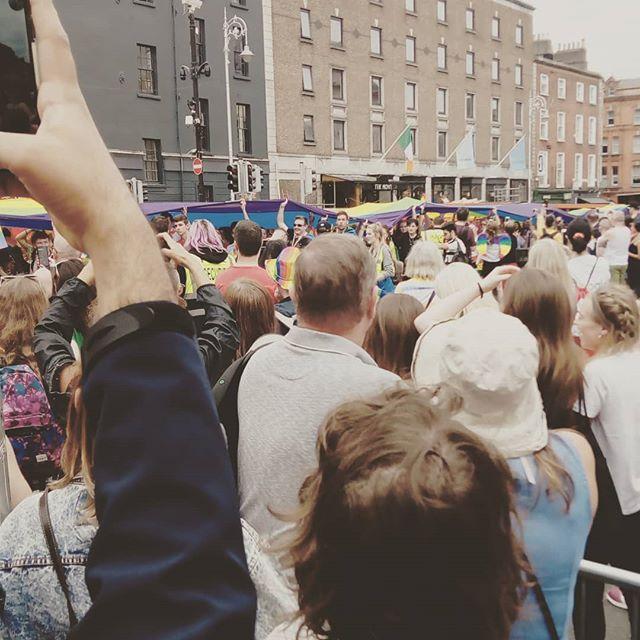 Pride was AMAZING  #pride #Dublin #rainbow #lgbtq🌈 #alley #beproud #equality #march #prideparade #pridemarch #2019
