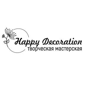 Happy decoration