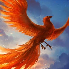 Феникс из кристалла огня