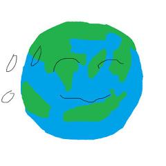지구의 슬라임 세상