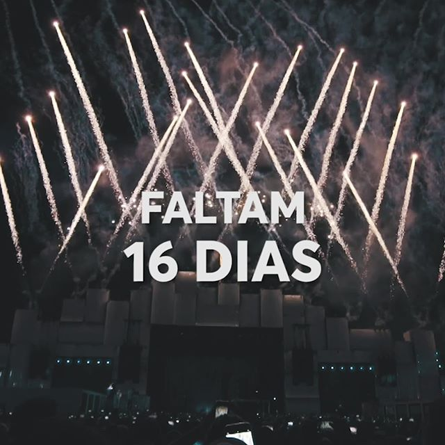 Já caiu a ficha que faltam só 16 dias pro #RockInRioNoMultishow? 😻🤩 Chama os amigos, separa aquele look de festival e bora curtir os shows dos nossos artistas favoritos ao vivo! #MascaQueRelaxa @trident_br