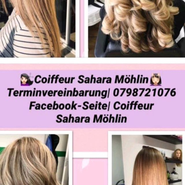 Balayage and ombere hairstyling