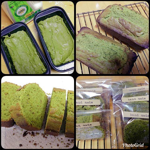 #녹차파운드케잌_greenteapoundcake