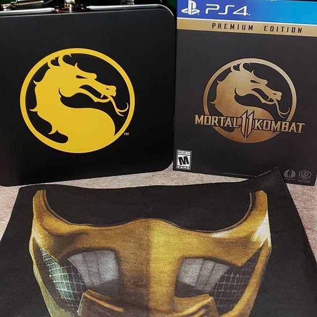 Ready for Mortal Kombat 11.... #mortalkombat11 #mk11 #mortalkombat #netherrealmstudios #sdjgaming #playstation4 #ps4 #playstation4pro #xboxone #xboxonex #xb1 #steam #steamgames #nintendo #nintendoswitch #beatemup #fighter #gamers #youtube #gaming