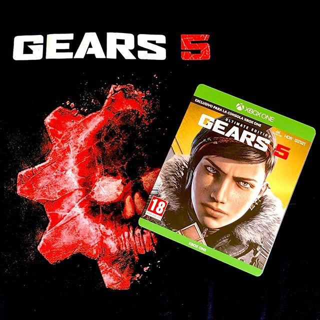 Gears of War 5 (2019) [Xbox One / PC]. #gears5 #gearsofwar5 #gearsofwar #gow5 #marcusphoenix #steelbook #gamer #xbox #xboxone #xboxonex #limitededition #collectorsedition #specialedition #locust #scifi #ultimateedition