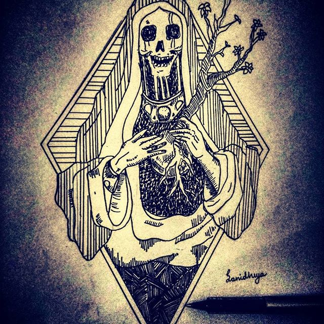 Death. . . . . . Tags: #art #artist #drawing #artwork #love #photography #painting #design #illustration #sketch #instagood #arte #digitalart #artistsoninstagram #fashion #like #instaart #photooftheday #music #draw #contemporaryart #beautiful #nature #follow #instagram #photo #picoftheday #creative #anime #bhfyp