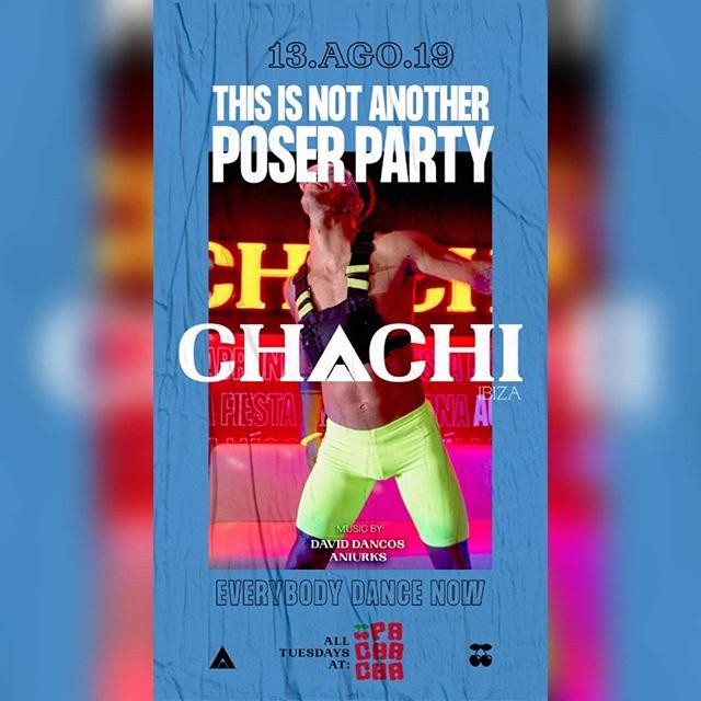 Martes de @chachiibiza en @pachaofficial @weruleibiza 🤗🤗 #pachaibiza🍒 #chachiibiza #ibizasummer2019 #martes # #partyibiza