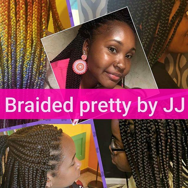 Openings available. Book Today NO DEPOSIT REQUIRED! #JAXBRAIDER #braids #share #neatbraids #rainbowbraids #jacksonvillebraider #Braidstylist #Boxbraids #triangleboxbraids #colorfulbraids #crochetbraids #crochet