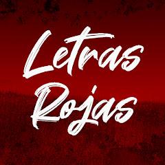 Letras Rojas