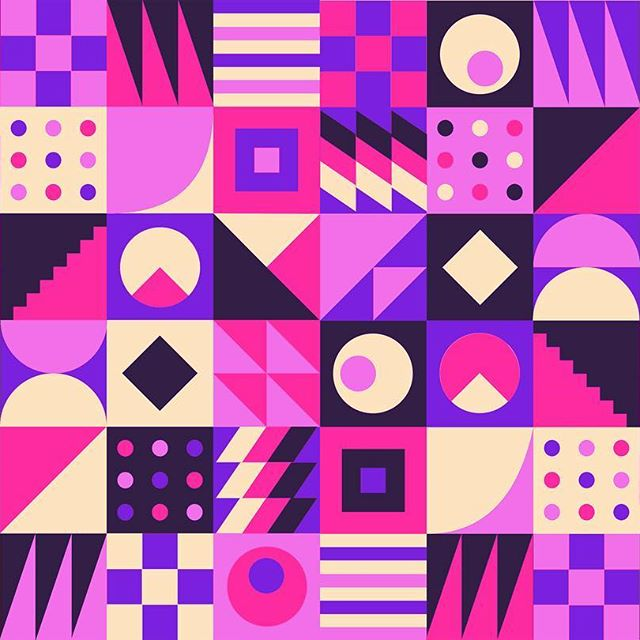 30 Days of illustration | #7 Blox . . . . #daily #illustration #dribbble #pattern #music  #edm #artwork #graphic #design #visual  #sketch #sketchapp #purple #vector #behance #paper #print #eye #pink #fun @vanila.design @visualambassadors #digitalart #abstract #artdaily  #electro #electric #colorfull #rotterdam