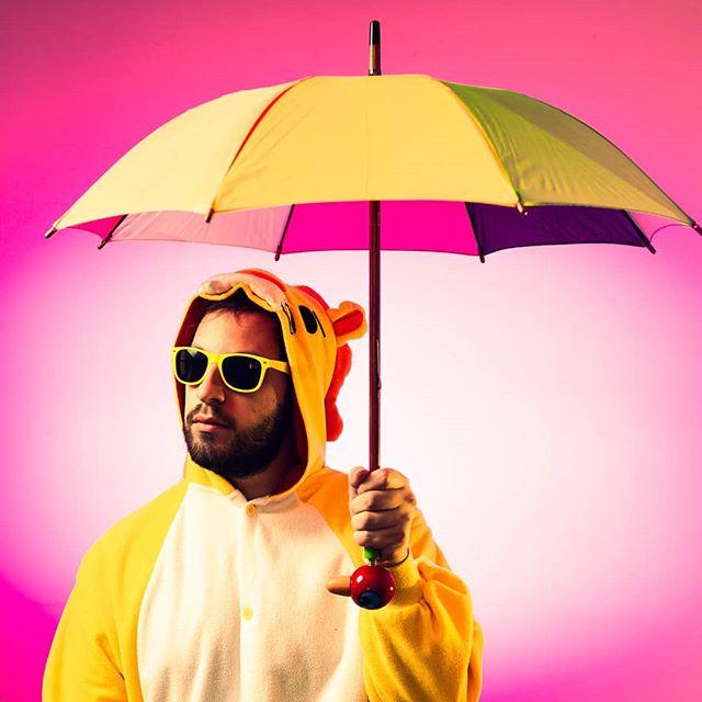 """""""La vie, ce n'est pas d'attendre que les orages passent, c'est d'apprendre à danser sous la pluie"""""""" _Sénèque  #TPM #ThinkPositiveMusic #kigurumi #clip #youtube #fun #positif #humour #drole #citation #citationpositive #positiveattitude"""
