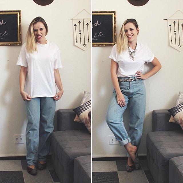 Mesma roupa, mas alguns detalhezinhos que fazem toda diferença, concordam? Quem viu no IGVT? 😊