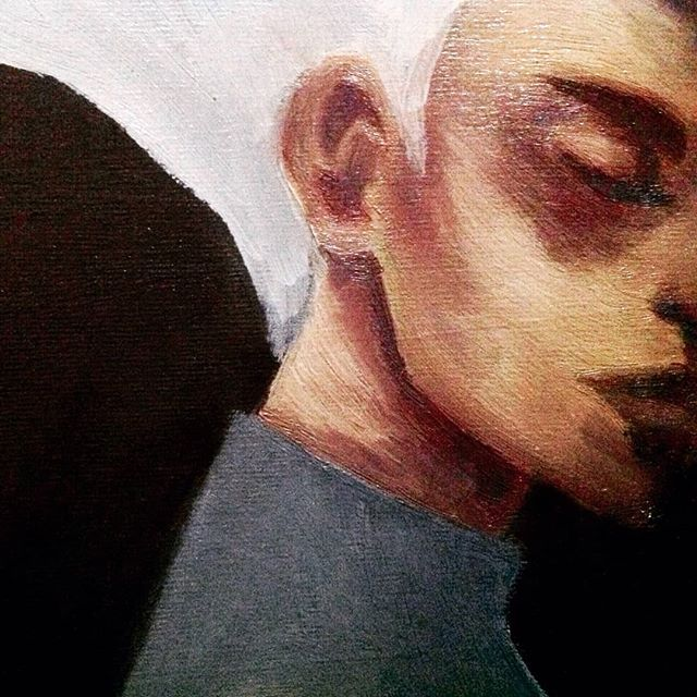 Throwback to when i took this pic of a wip version of one of my college paintings and i ended up liking this pic better than the actual finished one lol  #art #artwork #artist #portrait #painted #painter #paints #painting #traditionalart #traditional #paintings #paint #oilpaint #oilpaints #oilpainter #oilpainting #oilpaintings #oilpainters #portraitpainting #portraits #oilpaintingoncanvas #painting🎨 #contemporarypainter #painters #paintingprocess #artofinstagram #oilpaintingartist #artistsoninstagram #artistoninstagran #originalpainting