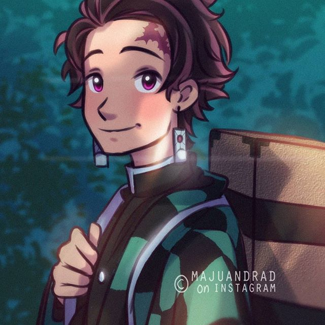 the coolest brother ✨ . . . . #tanjiroukamado #tanjirou #demonslayer #tanjiroufanart #digitalart #ilustration #drawing