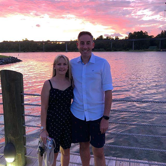 We had the best time at the Grand Floridian #grandfloridian #GF #wdwwaltdisneyworld #wdw #disneyvloggers #disneyworld #welovedisney #disneyinsta #disneyinstagram #sunset #orlandosunsets #florida #floridasunset