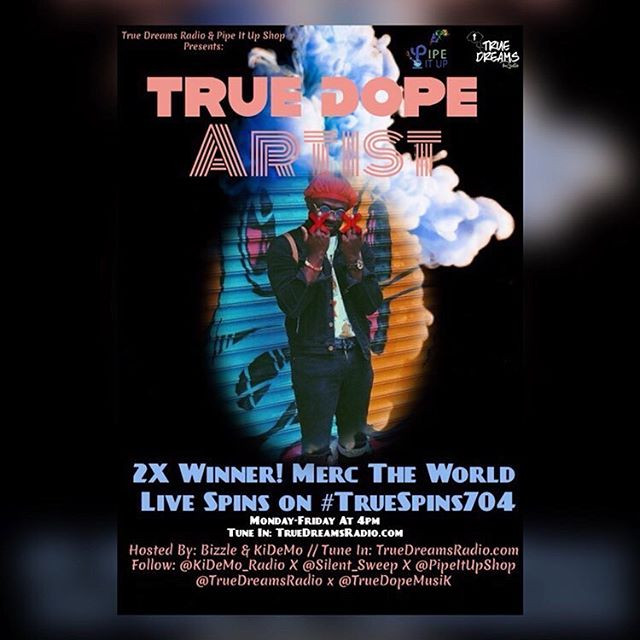 @truedopemusik blessed me with being a 2x winner on there show catch them live @ 11am TUNE IN TO THERE STATION 🔥😭 I'm blessed for this & appreciate everyone's support! We still have miraculousness to hit. Lets MercTheWorld!!! - - MERCTHEWORLD MUSIC IN MY BIO! - - - - - - - - - #dj #fashion #hiphop #hiphopartist #hiphopblog #hiphopculture  #radio #applemusicplaylist  #youtube #hiphopmusic #podcast #hiphopnews #rap #rapmusic #rapper #explorepage #singer #newsound #songwriter #spotifyplaylist