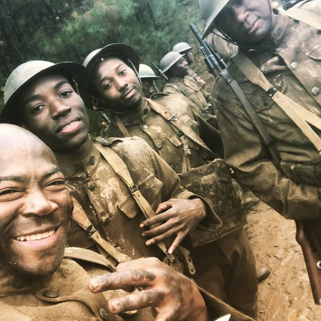 Before the fame and fortune. Real soldiers know their brothers who had boots on the ground with them. Success and a smile is like putting they head in a scope! #Actors #models #soldiers #ww1 #motivation #family #brothers #lightscameraaction #King #thestruggle