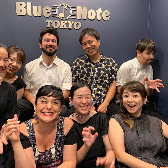 Too. Much. Fun!!! Arigatito my dear people of Japan, it was incredible two nights! Thank you everyone at @bluenotetokyo 💙 and to this amazing band!  Love 🇯🇵