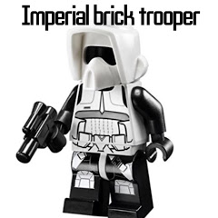 Imperial Brick trooper