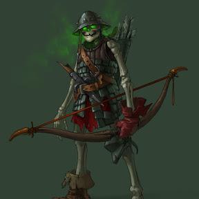 Скелет Лучник