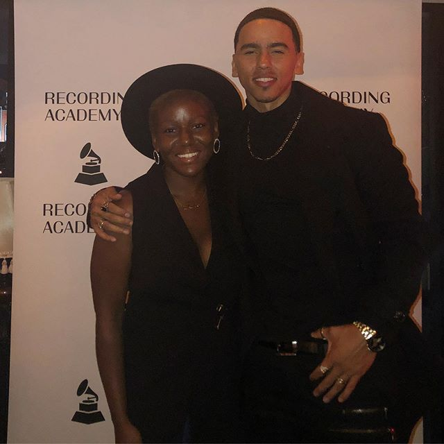 God is really showing out and answering prayers like Amazon Prime! I'm beyond grateful to @brittyvette & @recordingacademy for inviting @adrianmarcel and I to attend this evening's #GRAMMY festivities. It exceeded my expectations and provided so much confirmation and reassurance that I'm more than ready to successfully step into my next chapter. . .. ... .... ..... ...... ....... ........ ......... .......... #BrandManager #Designer #Producer #EntertainmentJournalist #Singer #RandB #Oakland #3VM #TheRecordingAcademy #Networking #BlackGirlMagic #NewMusic #DeltaSigmaTheta #DST #GrammyU #HBCU #OnTour #Recording #HowardUniversity #HBCU #Entrepreneur #Director #Creative