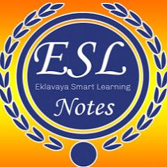 ESL Notes