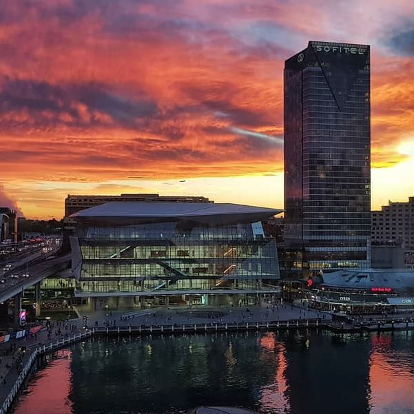 """""""Autumn Skies"""" ~ www.WatAlsPhotography.com  Autumn in Sydney with this view from the office. A little reward from nature for working late! Stunning sunset with such a beautiful view. Shot on my Samsung S8.  ___________________________________ #sunset_vision #samsungs8 #landscapephotography #hubs_united #galaxys8 #samsung #exploringaustralia #australiagram #wow_australia2016 #global_hotshotz #ausnzlandscape #ig_shotz #darlingharbour #earthpix #darlingpark #focusaustralia #instagood  #avantmutual #amazing_longexpo #amazingphotohunter #Greatshotz #splendid_exposure #australia_shotz #unlimited_australia #beautifuldestinations  #NewSouthWales #ilovesydney #visitnsw #sydneysunsetclub"""