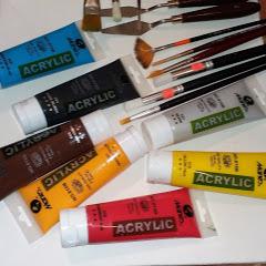Acrylic Paints Art