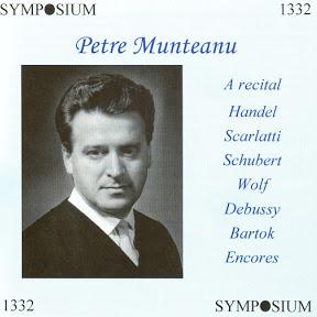Petre Munteanu - Topic