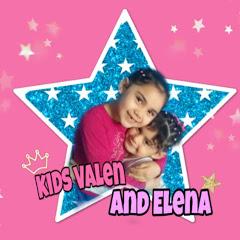 kids Valen and Elena