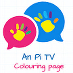 An Pi TV Coloring