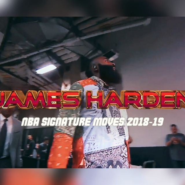 [2/2] @jharden13 🚀 2019 Highlight Mix 🔥 NBA Signature Moves ✍️ 1080p ᴴᴰ