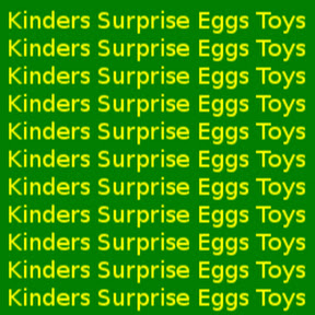 Kinders Surprise Eggs Toys