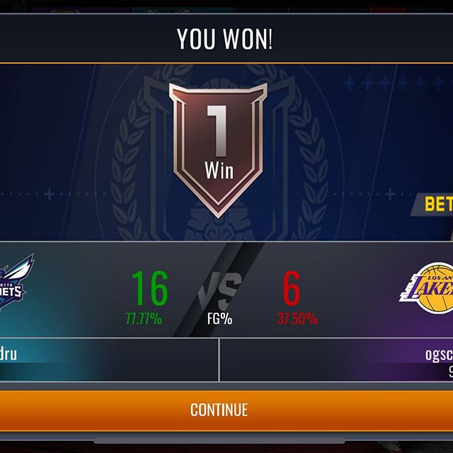 My take on real time PVP after my first game: Opponent quit halfway through so I haven't experienced a ton. Jump shots seemed laggy when the other play was connected. Gameplay is the same. Is it worth making a video on? #nbalivemobile #basketball #nba2k20 #nba2kmyteam #mobilegaming
