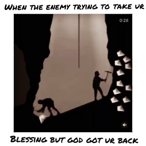 When the enemy think they can take what god has given to you but god got your back.🙏🏿 ♤ ♡ ♢ ♧  _____ FOLLOW 👉  and TURN ON POST NOTIFICATIONS🔔 FOR MORE 🏝 ______  #godswords #betterdaysahead #dailymorningquotes #godlycourting #godlydating #datingadvice #look2god #relationshipgoals #godlymarriage #thewait #powercouple #powerinprayer #girltalk #prayingcouple #godlycouple #manofgod #virtuouswomen  #relationshipquotes  #thewait #alphamale #womanofgod  #truelove  #inlove #mykinghisqueen #powercouple #lovequotes #myheart #soulmate #truelove #lovequotes #relationshipquotes #godlydating #christiansingles #godlycourting #realtalk💯 #thatpart💯 #godlymenexist