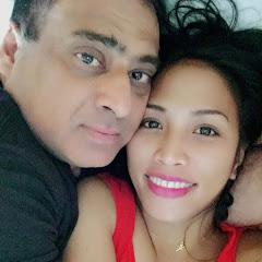 FILIPINA INDIAN COUPLE
