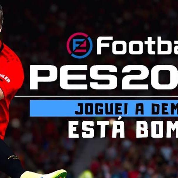 Joguei o PES 2020!! Da uma olhada no video, la no canal!! #Pes2020  Link: YouTube.com/vitongamer