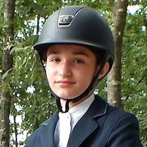 Clara Maitre, cavalière de CSO.
