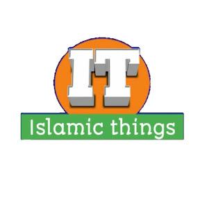 Islamic things