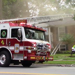 Fairfax Fire Photography