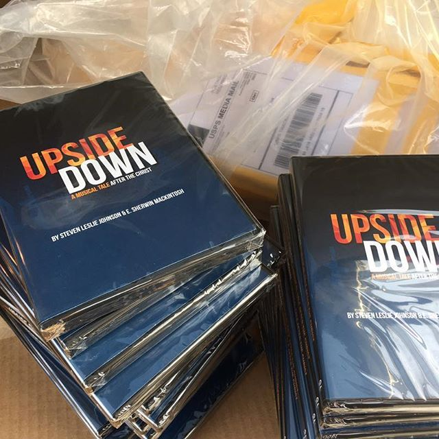 """Today is your LAST CHANCE to order a DVD and get it by the holidays! Use the code """"holiday2016"""" for a $10 discount on purchases of at least $20. Orders must be placed today by 9pm EST. Follow the link in our bio to order.  #upsidedownmusical #upsidedowndvd #postproduction"""