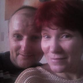 Семья в украинском селе.