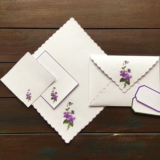 They are from my September Digital Vintage Kit. They have beautiful floral embroidery in violet💜⁠ I included both full and small sizes and made an envelope with it! It is my favorite in this kit!✉️ Always so fun to work with envelopes in journals :D⁠ I also made a journaling card and labels :)⁠ You can have a close look and see how I worked with it in my journaling on my youtube channel🎥⁠ The kit is available in my Etsy shop!⁠ The links are in my bio✨⁠ .⁠ .⁠ .⁠ #RosyJournalDigital #DigitalVintageKit #DigitalVintage #vintagedoily #frenchvintage #vintageprintable