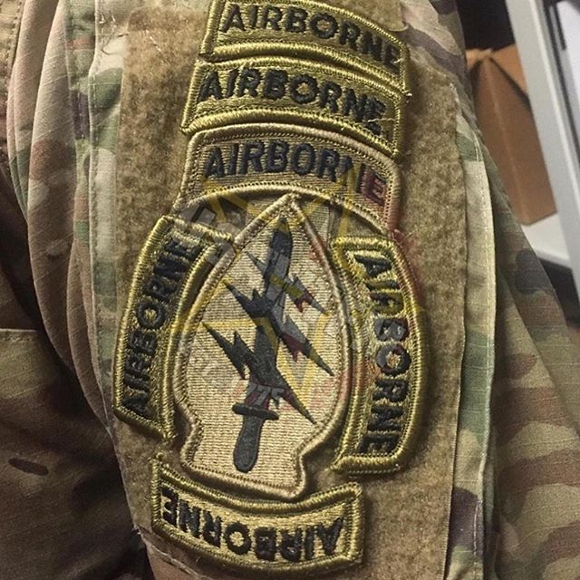 When you're ABNAF! @combatcarbs #lol #usawtfm #haha #funny #airborne #army #bragg #sf #jumpwings #lawndart #military #82airborne #maxed #maxedout #tab #airbornetab