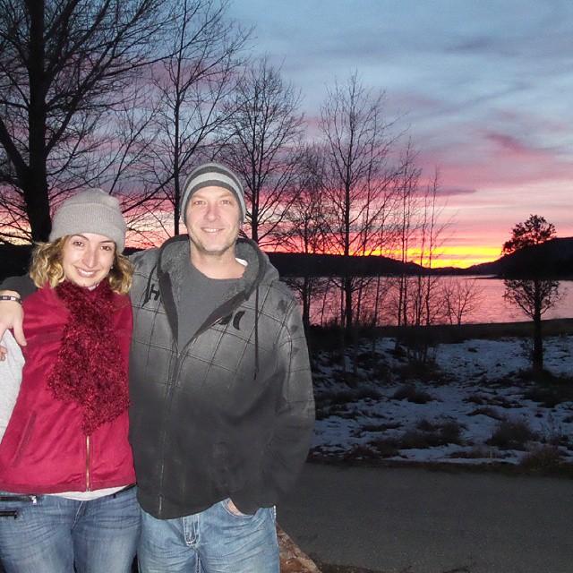 Another beautiful sunset at the lake.  #CatalinaWalsh & #JasonEngland