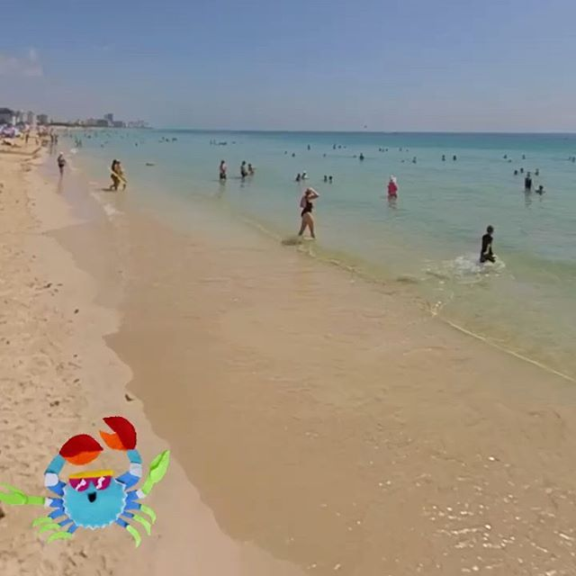 Now, on the beach. Feels like 🌡 100F... Summer... you are welcomed!!!☀️☀️☀️ • • * * *  #miami #oceandrive #miamiliving #visitmiamibeach #visitmiami #oceandrivemiami #oceandrive #miamibeachparties #miamibeachluxury #miamibeach #miamifood #nikkibeachmiami #summer #hauloverbeach #oceandrive #southbeach