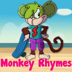 Monkey Rhymes - Nursery Rhymes for Preschool Kids