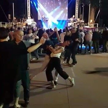 This is what a call a community spirit! Everyone, regardless of age, coming out to enjoy a dance to a live band. The location is a car park at a small Italian village and every single person knows how to dance! WOW! #loveitaly #danceisforeveryone #waltz #outdoordancing #friends