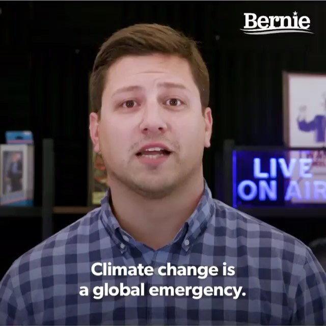 """I DON'T KNOW ABOUT ANYONE ELSE, BUT THE AMAZON RAINFOREST FIRE IS SCARING THE HELL OUT OF ME. IT AMAZES ME THE ATTENTION THE NOTRE DAME FIRE RECEIVED, WHEN LITERALLY THE FIRE DESTROYING THE AMAZON RAINFOREST. --THE LUNGS OF THE PLANET --IS BEING IGNORED. SENATOR BERNIE SANDERS (THE ONLY CANDIDATE WITH ACTUAL SOLUTIONS AND POLICIES) JUST ANNOUNCED HIS DETAILED GREEN NEW DEAL THAT WILL PAY FOR ITSELF. HIS PLAN IS BOTH VISIONARY AND PRACTICAL....*MEANWHILE AT THE URGING OF JOE BIDEN'S CAMP, THE MORALLY BANKRUPT DNC, JUST VOTED DOWN DEVOTING THE NEXT DEBATE TO CLIMATE CRISIS. ALL BECAUSE BERNIE WILL MAKE THE OTHER BOUGHT-CANDIDATES LOOK BAD. @berniesanders PLEASE READ,SHARE AND VOTE #berniesanders #bernie2020  From His Intro:"""" Climate change is a global emergency... We are already experiencing the deadly consequences of our climate crisis, as extreme weather events like heat waves, wildfires, droughts, floods, and hurricanes upend entire communities, ecosystems, economies, and ways of life, as well as endanger millions of lives. The  scientific community is telling us in no uncertain terms that we have less than 11 years left to transform our energy system away from fossil fuels to energy efficiency and sustainable energy, if we are going to leave this planet healthy and habitable for ourselves, our children, grandchildren, and future generations. """" *One last thing, the Amazon fires were deliberately set to violently remove indigenous people --the guardians of the Amazon-- from their land and turn it over to oil companies and cattle ranchers. Of course, deranged Brazilian president Bolsonaro supports this atrocity. Unlike Notre Dame, the Amazon can not be rebuilt. It cleans 20% of the world's oxygen supply."""