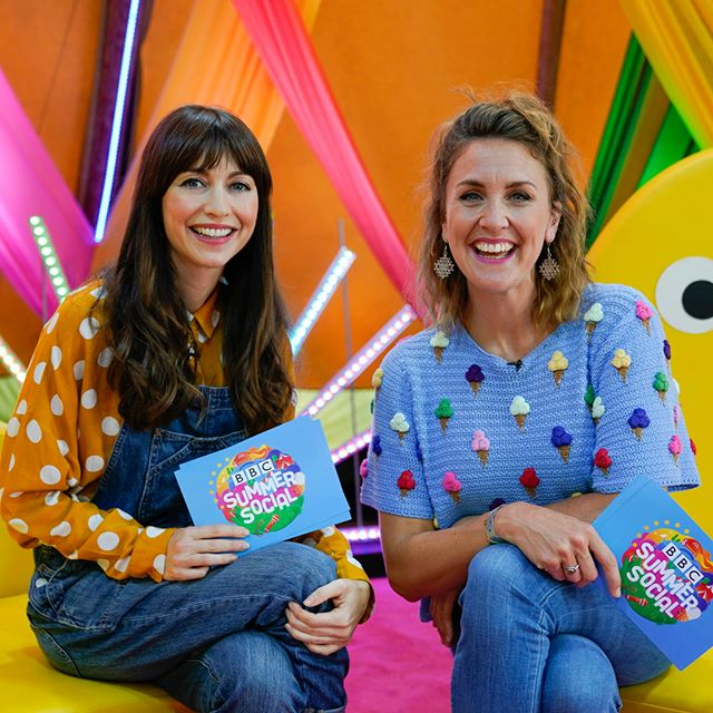 Rebecca and Katy bought all the sunshine and smiles to the Sunday of Summer Social as we broadcast live on @CBeebieshq ✌Did you catch it?